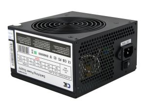600W Black Edition PSU 12cm Dual 12v CE PFC Model 600UB